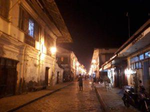 クリソロゴ通り夜景