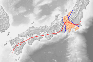 フォッサマグナ中央構造線