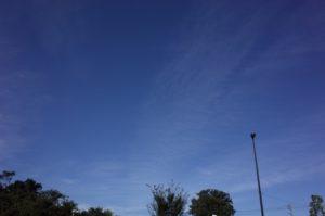 巻層雲 うす雲
