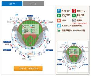 高校野球北神奈川大会案内図