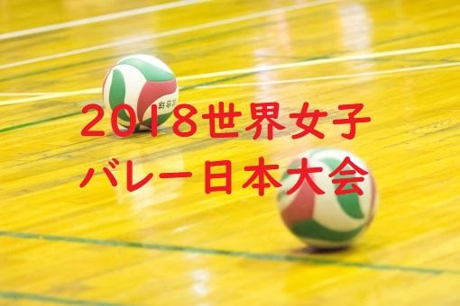 世界女子バレー日本大会