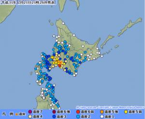 北海道胆振地震